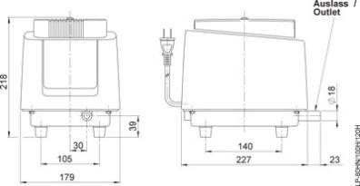 Kompressor für kleinkläranlagen